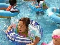 【屋外プール】小さなお子様にも安心♪のプールで楽しい夏休み☆7/22~8/31迄営業