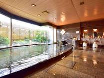 男性大浴場★良質な熱海温泉をたっぷりの湯量で!