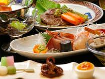 その日に水揚げされた日本海の海の幸を一番おいしいカタチで☆料金の違いがご夕食のグレードの目安です♪