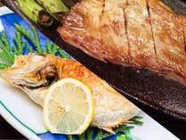 【夕食一例】高級魚のどぐろ&厳選された能登牛ステーキ