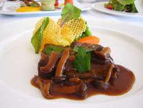 フレンチディナー肉料理(イメージ)