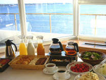 朝食ハーフバイキングスタイル(イメージ)