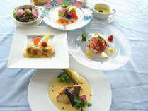 鮮魚ディナーコース~夏(イメージ)