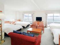 【ファミリールーム】ご家族やグループに人気の4ベッドルーム