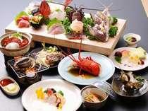 板盛り&伊勢海老&サザエ&アワビがメインの一番人気【磯祭り】プラン
