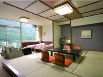お部屋は、ひろびろとした西館 「和洋室」