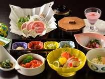 ■ご夕食イメージ※季節・仕入状況により内容は異なります。