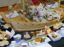 舟盛付き京風懐石