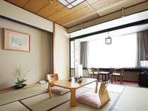 ◆和室8~10畳/畳の薫りもすがすがしい、日本旅館ならではの空間