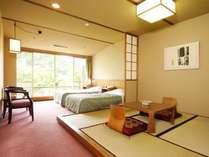 【和洋室2ベッド+4.5畳/30平米】全室最上階、ご夫婦・カップル向けの和洋室
