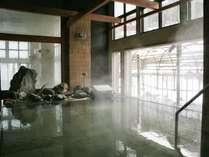 【B2 大浴殿 瑞雲/朝もや】翌朝の一番風呂は、温泉旅館の醍醐味