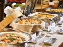 【夕食バイキング】北海道の食材を、和洋・そして郷土の3パターンで調理
