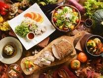 【夕食バイキング/秋の献立】時に豪快に、時に繊細に。料理人の技が光るレシピ