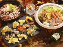【夕食バイキング/秋の献立】旨味を贅沢に堪能できる濃厚な味付けが、道産酒との相性抜群
