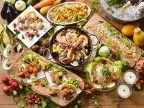 【夕食バイキング/夏の献立】夏の味覚を詰め込んだ、ボリューム満点の洋食レシピ