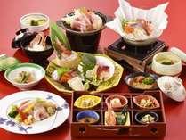 【和食会席/海饗の宴】贅沢にお刺身6点盛で、大盛り上がり間違いなしの和食会席膳 ※献立イメージ