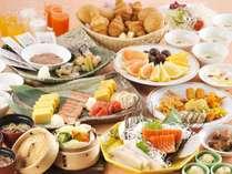 【朝食バイキング】一日の元気は朝食から、和洋お好きな料理を思う存分召し上がれ
