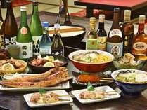 【4F 民芸茶屋・花屋敷】一品料理に合わせる酒は、北海道各地の銘酒をご用意
