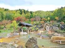 【豊平峡温泉】源泉100%の大露天風呂が人気、口コミサイトで全国1位の日帰り入浴施設