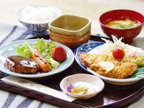*【夕食/洋定食】日替でボリュームがあると喜ばれています。味にも自信あり。