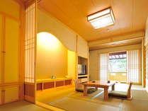 特別室【都忘れ】~趣のある和室とテラス付の10畳の和室とは別に和室4.5畳、和室6畳を備えております