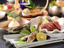 季節ならではの、ふるさと料理をお楽しみください。