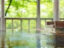 露天風呂 四季折々の景観を望みながらの湯浴み・・・