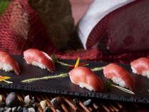 ◇冬の料理フェア(12/26~2/29) 本まぐろ瓦握り寿司
