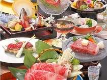 鳥取和牛♪しゃぶしゃぶ&炙り寿司&石焼きの豪華会席