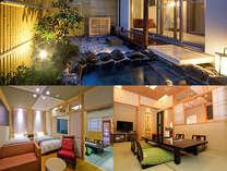 2012年7月14日オープンのカバナルーム。温泉露天風呂付。