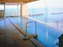 地上27mから日本海を一望する眺望大浴場。皆生随一の絶景の大浴場♪♪