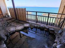 地上27mから日本海を一望する眺望大浴場。皆生随一の絶景の大浴場♪