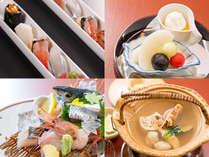 【1番人気】スタンダード会席♪【姫寿司+お造り+和牛チョイス+旬の料理&貸切露天1回無料】