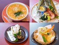 SH【一泊夕食】姫寿司+お造り+和牛のスタンダード会席♪姫寿司+お造り+和牛石焼&貸切露天1回無料