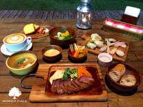 シーサイドの風薫るガーデンカフェで優雅なリゾートタイム♪『BONDI CAFE』の朝夕食付プラン