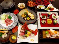 【日向雫】伊勢海老会席「彩」秋の味覚を贅沢にお楽しみいただけます♪(9月~11月)