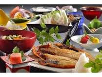 【ご朝食】新鮮な栃木のお野菜と、木更津直送の金目鯛