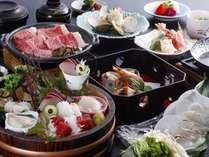 ◆1泊2食◆料理長お勧め!季節の会席臣コース