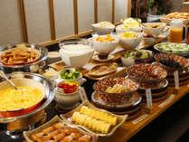 和洋手作り朝食バイキング
