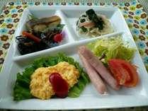 カジュアルプレート朝食