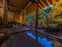 ◆夜の露天風呂