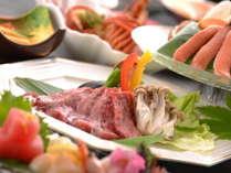 ■四季を感じる贅沢御膳~メイン料理(山形牛ステーキ)