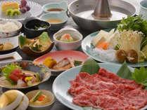 ◆山形牛/極上ブランド牛を「しゃぶしゃぶ」「すき焼き」「ステーキ」から選べる内容♪