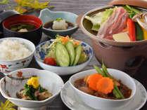 ◆カジュアルプラン【山形牛ビーフシチュー+豚肉陶板焼き】