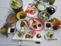 米の娘ぶたしゃぶしゃぶがメインの和食膳☆山形いも煮付き
