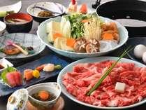 山形牛すきやき食べ放題プラン(イメージ)