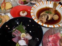【お食事グレードUP】魚も肉もどっちも満喫◎グルメと天然温泉で島旅行♪