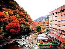ホテル外観(紅葉)