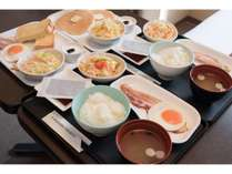 朝食は和洋4種類の中からお選びいただけます