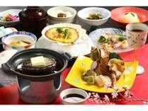 ◆鮑のおどり焼き・貝づくしの晩餐貝♪(お部屋食)